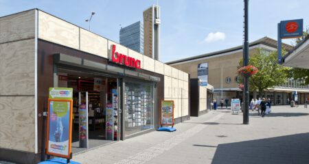 Tijdelijke winkelruimte CS Eindhoven